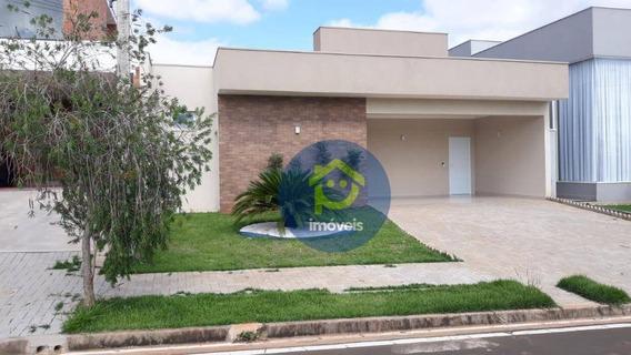 Casa Com 3 Dormitórios À Venda, 181 M² Por R$ 950.000 - Residencial Village Damha - Limeira/sp - Ca2572
