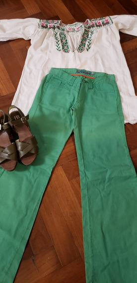 Pantalón Oxford Verde Impecable