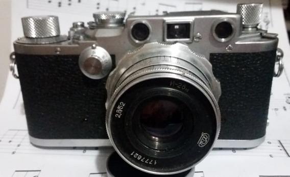 Lente Industar - N-26m 52mm 2.8 Rosca M39 Para Leica Canon