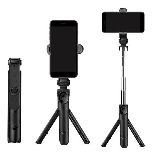 Trípode Selfie Stick Extensible Con Bluetooth Control Remoto