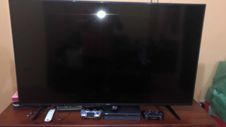 Tv Riviera 55 Pulgadas 4k Y Ps4 Con Dos Controles Y Juegos