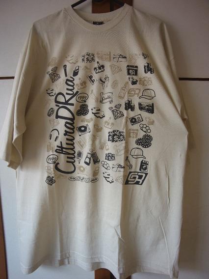 Camiseta Hip Hop Cultura De Rua Tam Grande Xxl Gg