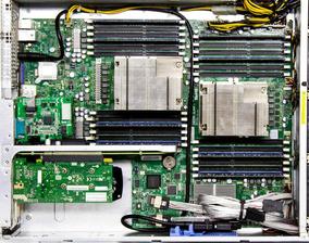 Servidor Rack 2u - Supermicro Xeon 8 Core 2 Hds 1tb 32ram