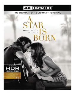 A Star Is Born 4k + Blu-ray + Digital Hd