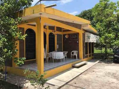 Casa Amplia En Tuxpan Y 400m2 De Terreno