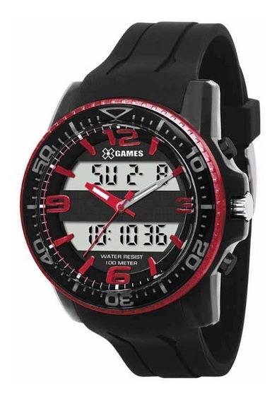 Relógio X-games Vermelho Masculino