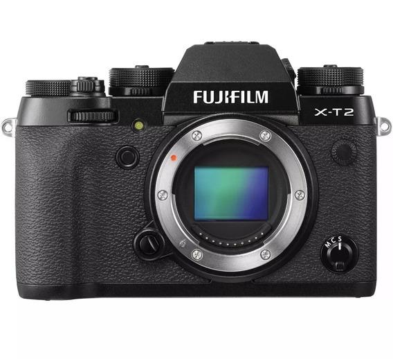 Camera Fujifilm Xt2 Corpo / Fuji X-t2 (corpo) +lente 18/55