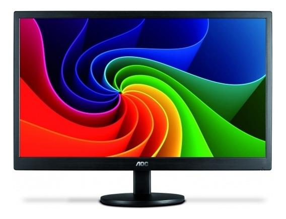 Monitor 18,5 Pol Led Aoc - 200 Cd/m2 De Brilho - E970swnl -