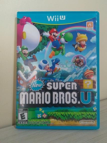 New Super Mario Bros.u Para Nintendo Wiiu Americano