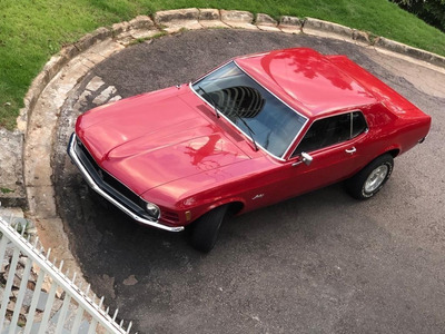 Mustang Hardtop 1970 Placa Preta, Lindo!!