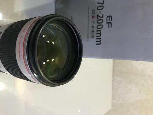 Imagem 1 de 8 de Canon 70-200mm 2.8l Is Ii Usm