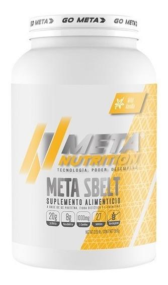 Proteina Meta Nutrition Meta Sbelt 2.09 Lb Fibra L-carnitina