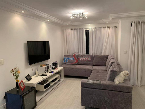 Imagem 1 de 23 de Apartamento Com 3 Dormitórios À Venda, 127 M² Por R$ 725.000,00 - Vila Carrão - São Paulo/sp - Ap2325