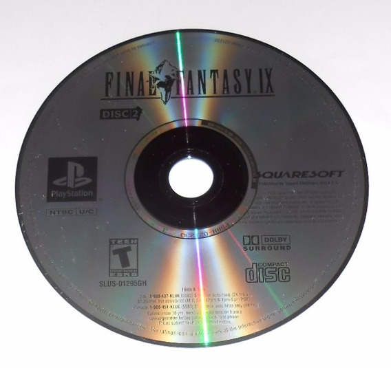Final Fantasy Ix Disco 2 Greatest Hits Original Ps1 Cr $15