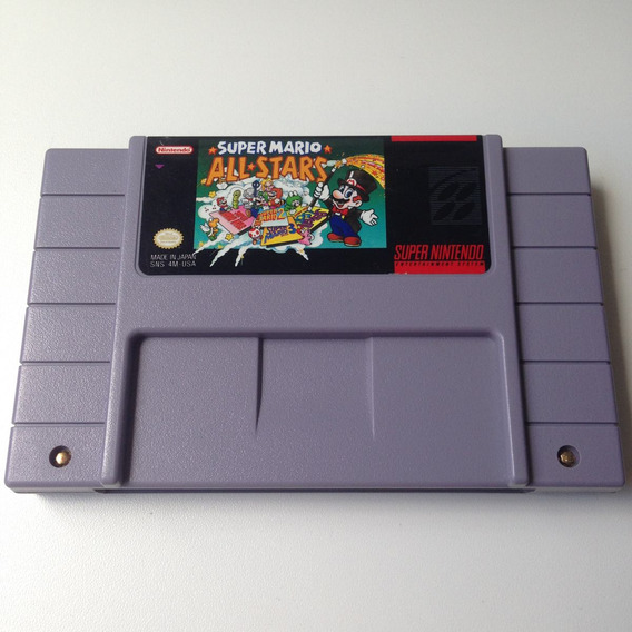 Fita Super Mario All Stars Original - Super Nintendo - Snes