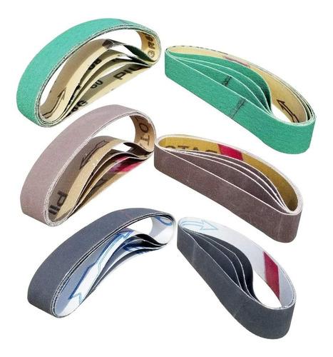 Imagen 1 de 6 de 24 Pcs Knife Sharpener Sanding Belts, 3/4  X 12  Replacement
