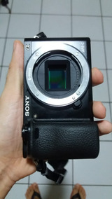 A6000 Sony Alpha 6000 Câmera Mirrorless. Só 6 Meses De Uso