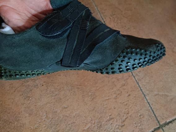 Zapatillas Puma Colegio Escolar Botín Negra