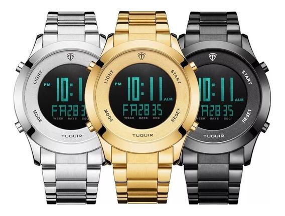 Relógio Masculino Tuguir Esportivo Digital Original Tg103