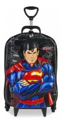 Imagem 1 de 1 de Mochilete 3d Liga Superman