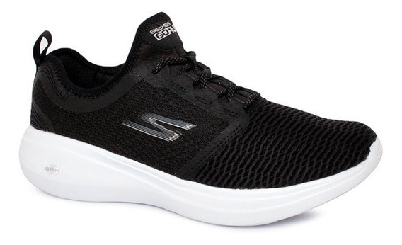 Tênis Skechers Go Run Fast Gtw-15100 Feminino Preto/branco