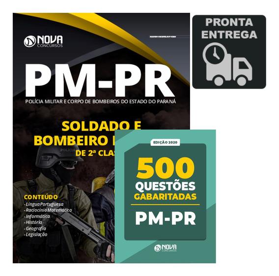 Apostila Concurso Pm-pr Soldado + Questões Livro