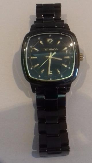 Relógio Technos - All Ceramic - Novissímo - Único
