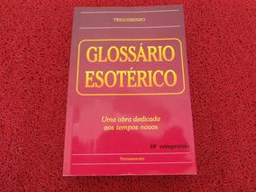 Livro Usado Glossario Esoterico
