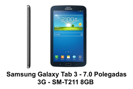 Samsung Galaxy Tab 3 7.0 Sm-t211 3g 8 Gb