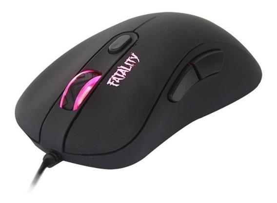 Mouse Gamer Dazz Fatality Usb 6 Botões 3.500dpi Led