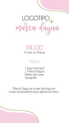 Logomarca + Marca Dagua