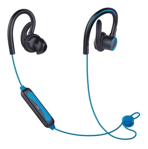 Fone De Ouvido Bluetooth Sem Fio Esportivo Sumexr Sly08 Azul