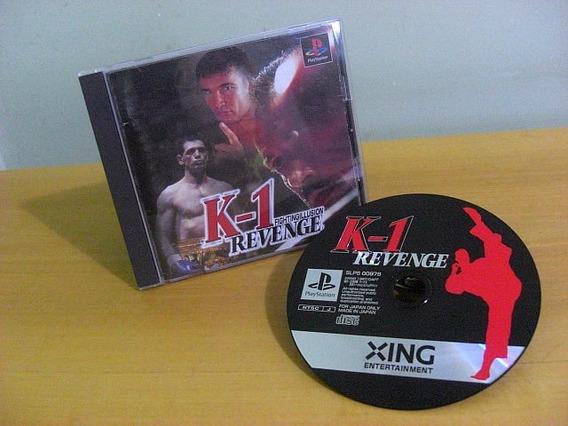 K-1 Fighting Illusion Revenge Japonês Original    Ps1