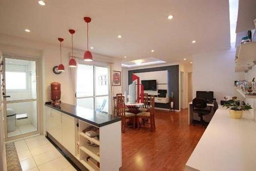 Apartamento Com 3 Dormitórios À Venda, 70 M² Por R$ 640.000,10 - Água Branca - São Paulo/sp - Ap0442