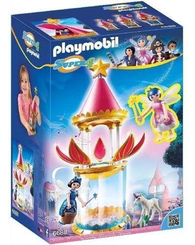 Playmobil 6688 Torre Flor Magica Con Luz - Original