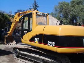 Excavadora Caterpillar 320c Año 2004.