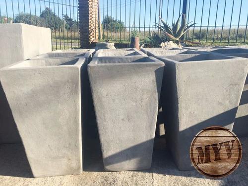 Macetas Reforzada Tacas Alto 60 Boca 36x36 Gruesas