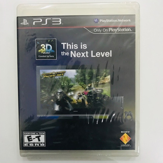 Jogo Ps3 This Is The Next Level - Raro Colecionador