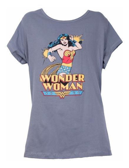 Remera, Dc, Wonder Woman. Ovni Press, Original, Lic Oficial