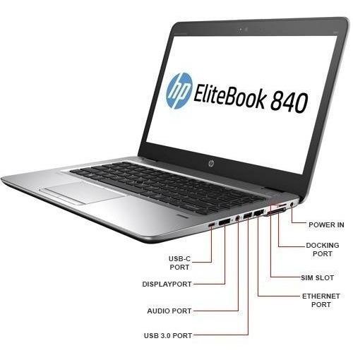 Elitebook 840 G3 I7-6600u 2.81