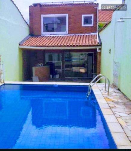 Vendo/alugo - Vila Bertioga - Sobrado Triplex - 250m² - So0387