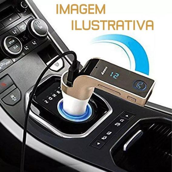 Carregador Veicular Bluetooth Transmissor Digital Usb Fm Sd