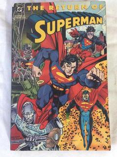 The Return Of Superman, El Regreso De Superman Tpb Dc Cómics