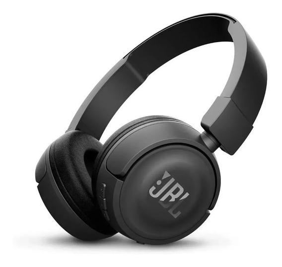 Fone De Ouvido Jbl T450bt Bluetooth Pure Bass - Preto
