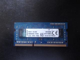 Memoria Kingston Ddr3 4 Gb 1333 Para Laptop