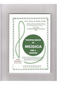 Princípios Básicos Musica Juventude 2 Metodo Livro Partitura