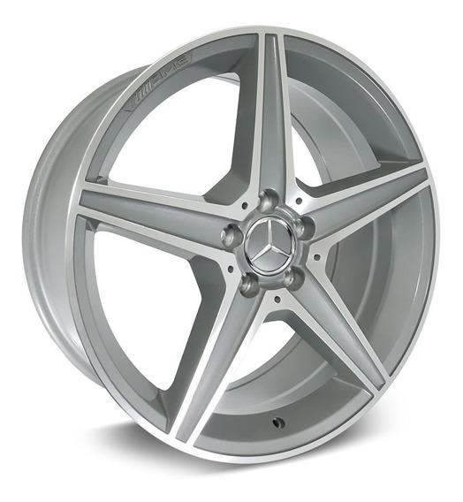 Jogo Roda Mercedes C250 Sport Aro 17 - Grafite Diamantada