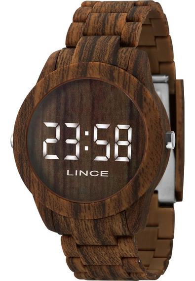 Relógio Feminino Lince Led Branco Mdp4614pbxnx