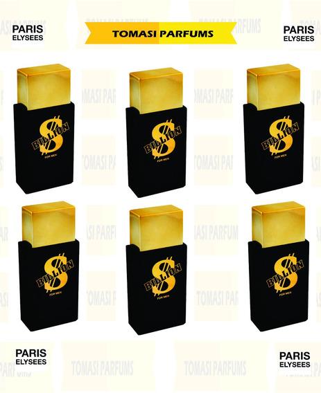 Kit Com 6 Perfumes Billion For Men Paris Elysees 100ml