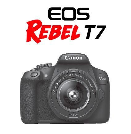 Manual Em Português Canon Eos Rebel T7